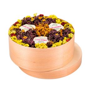 подарочный набор мед и варенье 3 баночки по 200 мл меда и варенья на выбор с вашим лого